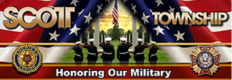 Scott Township Military Banners